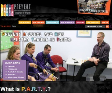 party-alfred-website